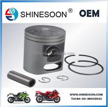 Wholesale motorcycle spare parts cylinder block engine piston kit