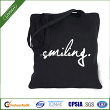 2015 Cheap Promotional Heavy Duty Cotton Canvas Tote Bag