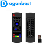 2.4Ghz Wireless Mini MX3 Keyboard With IR Learning Mode Air Mouse Remote Control For PC Laptop Android TV Box