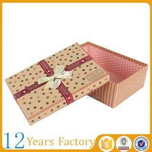 popular packing 5x7 cardboard paper gift box