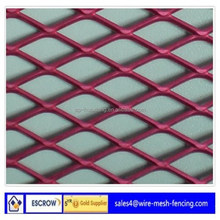 Plastic Coated Expanded Metal/Diamond Wire Mesh Raised Expanded/Galvanized Diamond Expanded Metal Lath