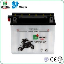 lead acid dry start batteries for motorcycle vehicle
