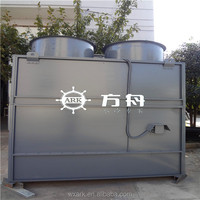 Industrial FRP Closed Type Cooling Tower With Stainless Steel Support And Copper Tube