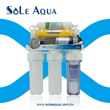 SA04 6 stages with gauge reverse osmosis home water filter system