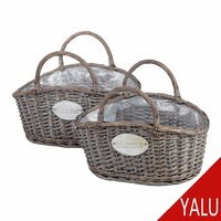 wicker rattan basket H-15340