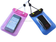 Eco-friendly waterproof clear mobile phone PVC waterproof bag
