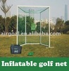 Golf ball printer(Inflatable & Portable Golf Net Post)
