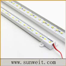 Hottest 1m 5630 smd rigid aluminum bar light with R/G/B/Y/RGB/pink/WW/NW/PW/CW color options