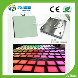 Made in China multi color waterproof LED dance floor for nightclub/ disco