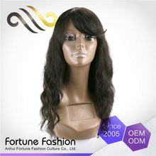 Price Cutting Soft And Shiny Base Skin Full 150% Density Lace Wigs Imported