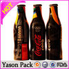 Yason heat seal shrink label plastic bottle seal bottle pet label