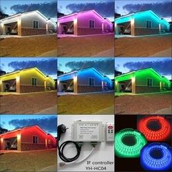 60 led 10W Hot-selling CE&RoHS ETL RGB led strip light SMD5050 continuous length flexible led light strip