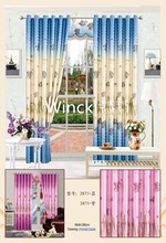 New design kids cartoon lovely curtain for living room