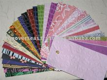 Recycled cotton Papers
