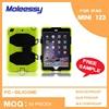 Economic pc silicone combo case for ipad mini