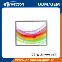 17 inch industrial vga dvi open frame lcd monitor