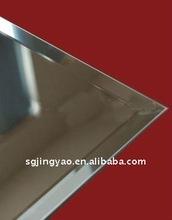 4mm float silver mirror beveled edge