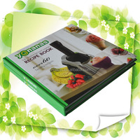 New design China factory cheap price high quality printing restaurant menu printing cooking book