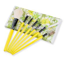 japan cosmetic kabuki brushes,makeup brush,7pcs in 1 set