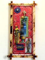 Indian Terracotta Sculptured 3d Framed Paintings Art