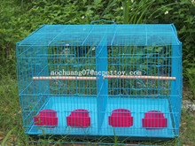 Folding wire bird cage with factory price