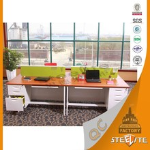 Modern Office Commercial Work Station Steel Customized Table