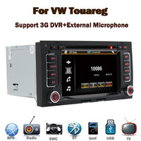 In Stock 3G Internet VW Touareg Radio With 3G GPS Bluetooth TV Radio RDS USB IPOD Steering wheel control Canbus