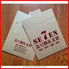 Top Popular UV Craft Paper Packaging for CD Packing Wholesale