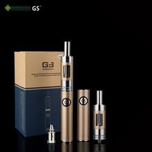 new vaporizer pen Bottom Double Charging 900mAh GS G3 kit e cig pen vaporizer
