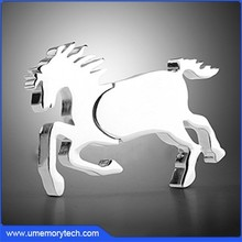 Metal horse usb flash drive horse usb horse pen drive 2015 hot sale usb products
