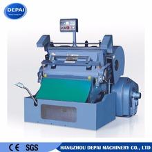 Semi-automatic cardboard / leather / plastic die cutting machine