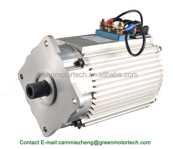 Ac motor 48v 4kw electric car motor kit for electric golf for Ac dc electric motors