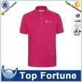 La camisa de polo falso unisex, uniformes de la camisa de polo de alta calidad profesional de la camisa de polo.