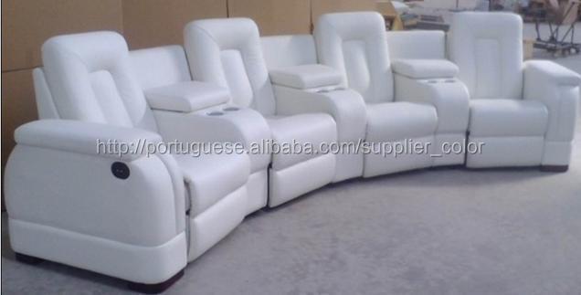 Sofá reclinable Sofá reclinable Sofá reclinable / cuero / sofá ...