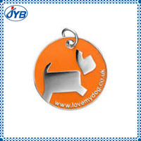 high quality sport bag id tag and id tags for pet