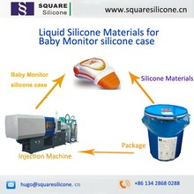 2 part medical grade liquid silicone rubber for baby monitor silicone case