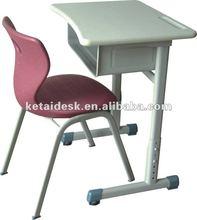 Modern kids adjustable school desk and chair
