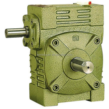 WPW Worm Reduction Gear Box , Cast Iron Electric Motor Speed Reducer
