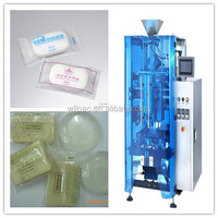 Electronic hotel pillow soap packing machine