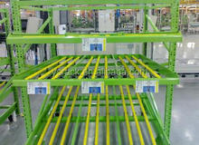 Industrial Carton Flow Steel Rack,gravity rolling racking system