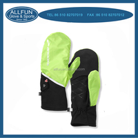 Fashion new design useful unisex colorful soft hand care gloves with led light
