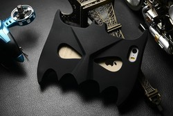 silicone phone case Face mask Batman 3d Silicone case for iphone 5