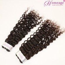 Homeage Malaysian curly hair 3 bundles 22 inch length long hair bangs for a head No shed No synthetic real human hair