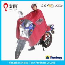 Maiyu waterproof pvc poncho motorcycles