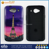 High Quality Glitter Eiffel Tower OEM PC TPU Case for ZTE L2 Plus