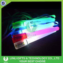 Customized Party Festival Cheering Flashing Stick With LED Light, Coloful Light Party Up Cheering Flashing Stick