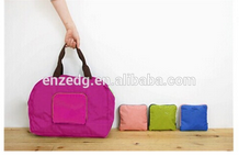 high quality foldable travel plain tote bags