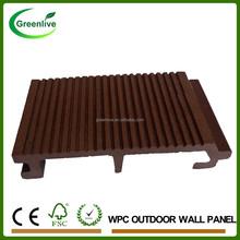 Cheap Price Wood Plastic Composite WPC Exterior Wall Decorative Panel