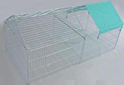 2015 big dog house durable of good quality powder coated easy to assemble dog pen pet pen rabbit pen wholesale
