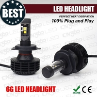 new design perfect heat dissipation all in one chameleon led headlight set h4
